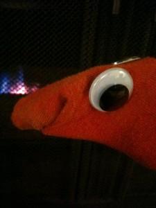 Sinister Sock Puppet